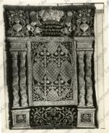Curtain for the ark (Parochet) in Sulzbach, Germany (from the Harburger collection)